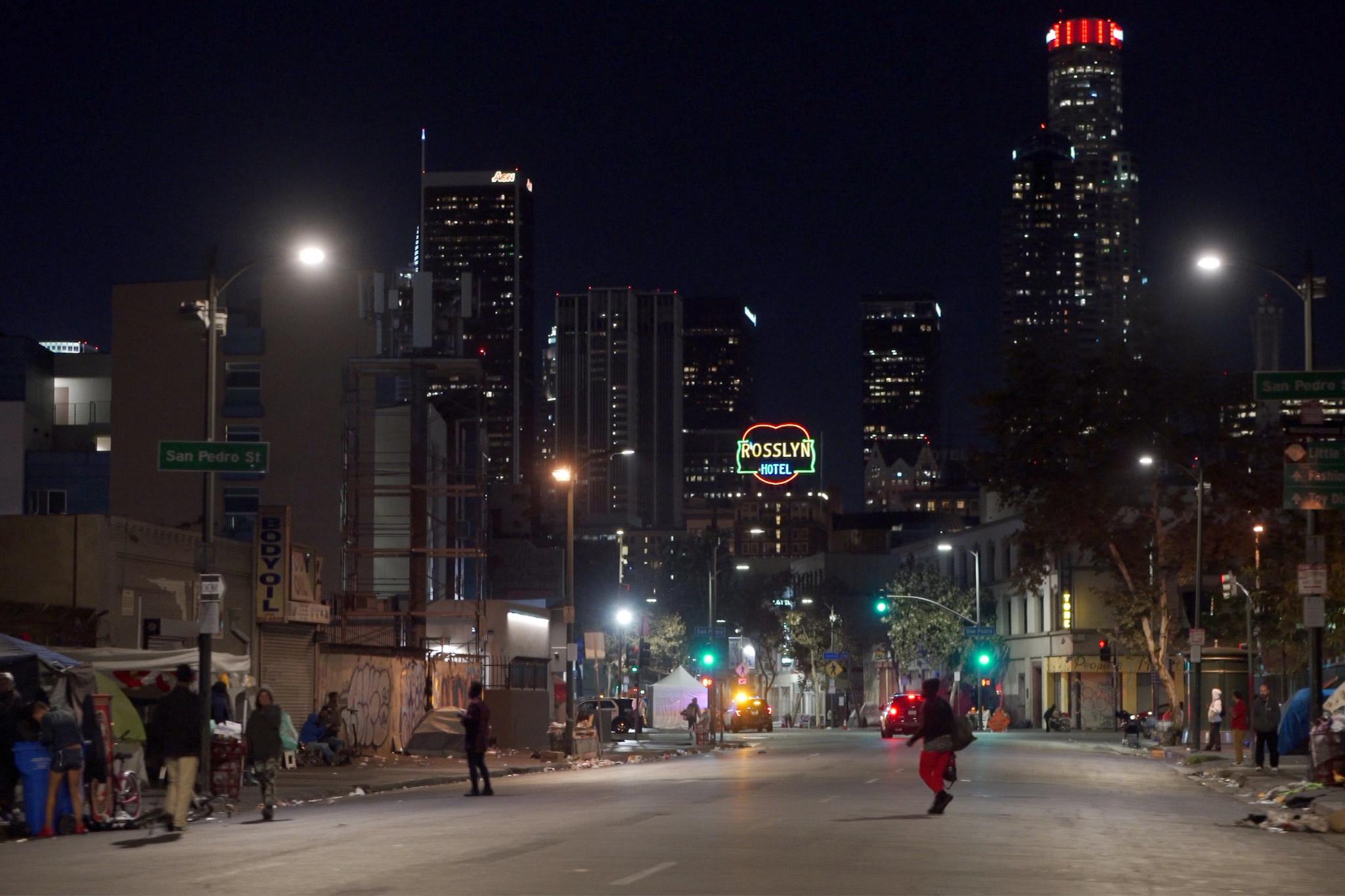 Phenomenon Blade Runner - Los Angeles Street Scene